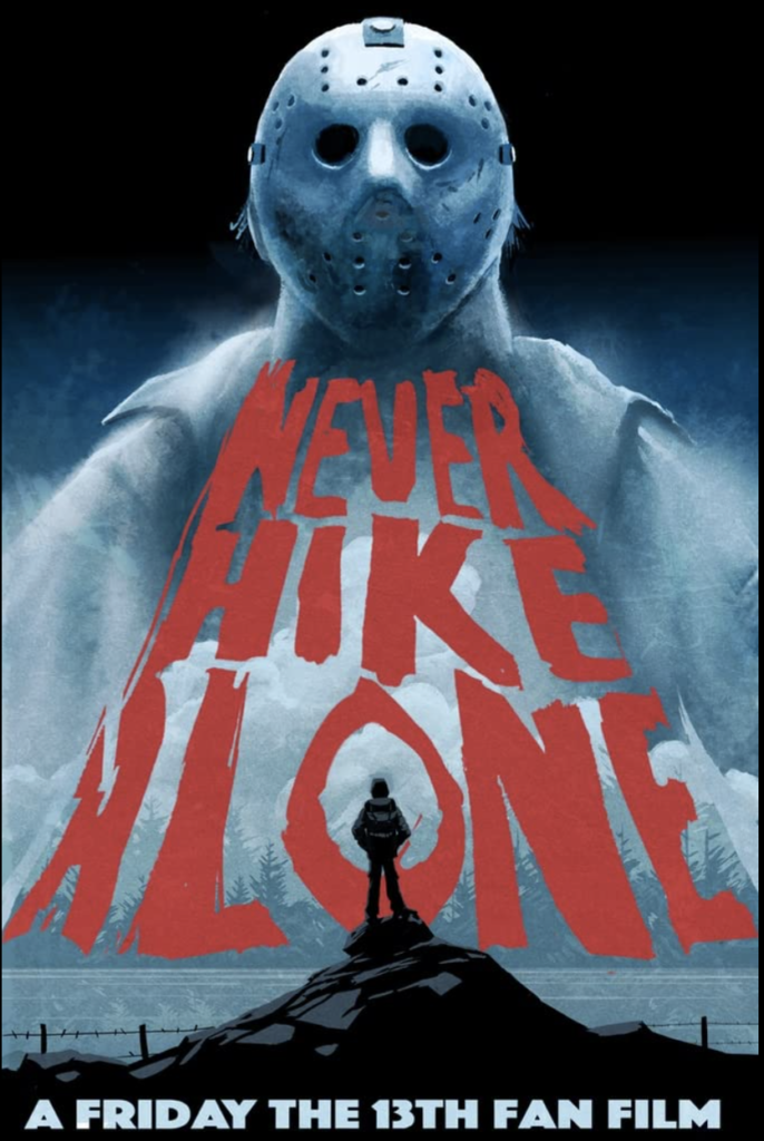 Never hike alone movie cover - hiking movies