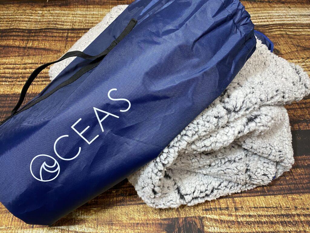 Oceas Waterproof Sherpa Blanket Review