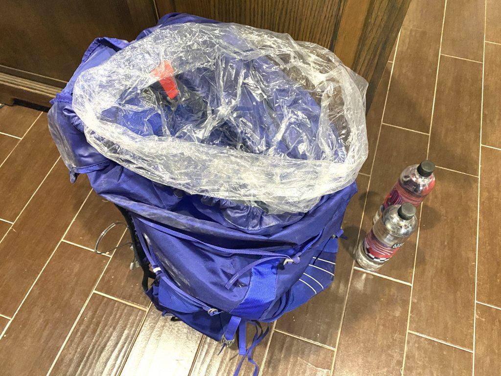 Nylofume Backpack Liner