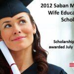 Saban Military Wife Scholarship