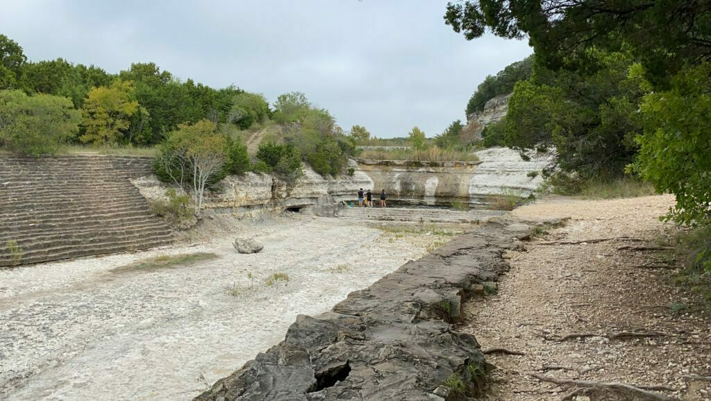 Spillway Trail at Cleburne State Park