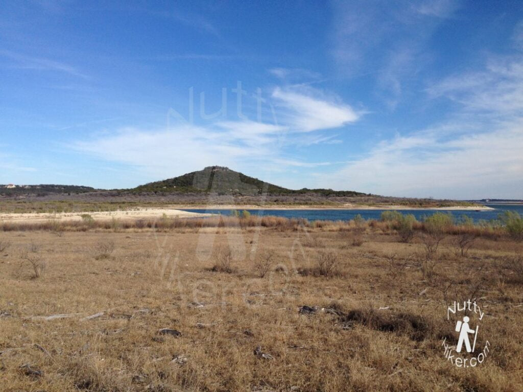 Sunny Day at Dana Peak Park near Harker Heights Texas