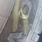 Slashed tire at dana peak park near harker heights texas & Fort Hood