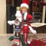 Rocky the naughty elf finds the Everclear
